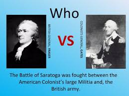 「battle of saratoga location」の画像検索結果
