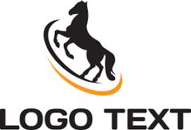 black horse Logo Vector (.EPS) Free Download