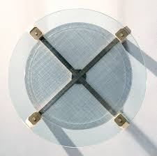 glass table top view. Top View Of A Round Glass Table