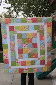 Best 25+ Charm square quilt ideas on Pinterest | Charm pack quilt ... & The Kelsie Baby Quilt from Rebel Perfection. Like the inner borders. Makes  the quilt · Easy Baby Quilt PatternsBaby Quilt TutorialsCharm ... Adamdwight.com