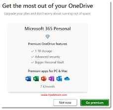 unlink microsoft onedrive to save your