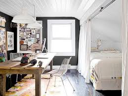 View in gallery Combine the home office and bedroom into one [Design: For  Space Sake]