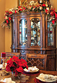 Full Size of Chinabinet Top Of Decor Decorate Decorating The Unforgettable  Photo Design Xmasbinetdecorated China Cabinet ...