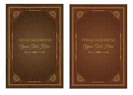 old book covers old book covers old book leather cover vector