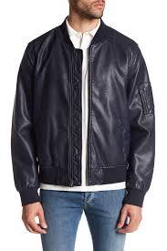 image of levi s faux leather er jacket