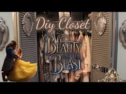 diy closet transformation beauty and the beast room