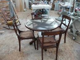 luxury round glass top dining table wood base for your interior photo on wonderful inch glass table top diameter