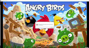 HELP! Unable to run any versions of Angry Birds on PC after installing older  version (1.5.1), does anyone know how to fix this? (screenshot shows version  3.0.0): angrybirds