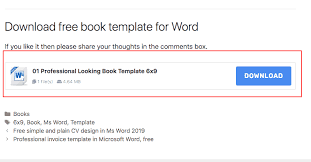Free Book Template For Word Book Template Free Book Templates For Word Other Programs