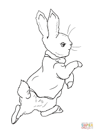 Peter Rabbit Coloring Pages Free Coloring Pages