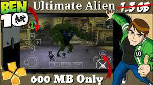 how to ben 10 ultimate alien on android phones for free game to ppsspp game