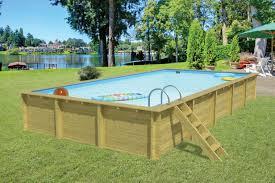 Hout 506x800cm Op Op Zelfbouw Zwembad Hout