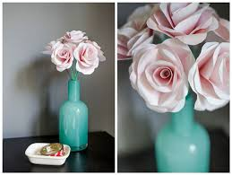 Homemade Paper Flower Decorations 20 Diy Paper Flower Tutorials How To Make Paper Flowers