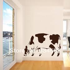 Wall Decor Sticker Aliexpresscom Buy Mad World Moo Cow Grazing Farm Animal Wall