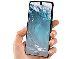 sharp aquos phone. sharp aquos s2 screen slim bezels phone e