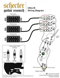wiring for schecter ultra iii p rails content and diamond series schecter damien wiring diagram at Schecter Damien Wiring Diagram
