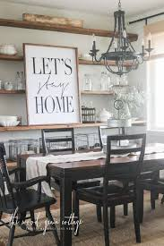 wood sign glass decor wooden kitchen wall: summer home tour the wood grain cottage