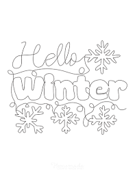 The best free, printable winter coloring pages! 80 Best Winter Coloring Pages Free Printable Downloads