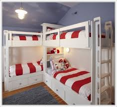 Corner Bunk Beds For Four
