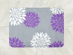 flower bath rug pink flower bath rug