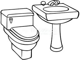 bathroom clipart black and white. Delighful Bathroom Comported Clipart Toilet 62765596 School Toilet Clipart Black And White   In Bathroom