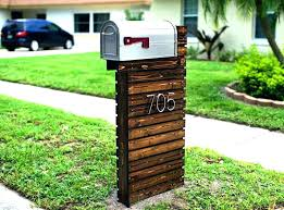 modern mailbox dwell. Delighful Modern Modern Mailboxes Post Mounted Mailbox With Mid Century Dwell With Modern Mailbox Dwell A