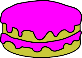 Small Picture Pink Cake No Candles Clip Art at Clkercom vector clip art