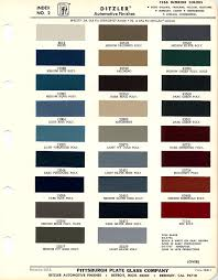 1966 mustang interior paint chart