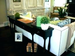 behind the couch table medium size of narrow sofa table d couch awesome adjule kitchen fascinating