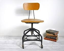 industrial office chairs. Vintage Industrial Office Chair \u2013 Guest Desk Decorating Ideas Chairs