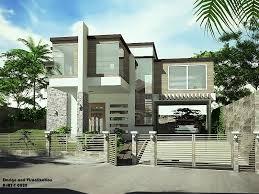 simple modern house. Exellent Simple Simple TwoStorey Modern House Update In