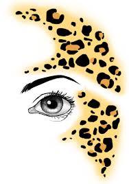 print makeup tutorial eye makeup transfers juriewicz info lively leopard instant facepaint transfer tattoo