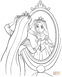 Small Picture Princess Rapunzel coloring page Free Printable Coloring Pages