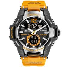 Man Watch <b>2020 SMAEL Brand Men</b> Sports Watches Dual Time ...