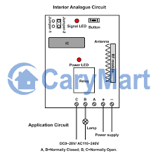 1 channel dc power rf momentary remote control receiver circuit 1 channel dc power rf momentary remote control receiver circuit
