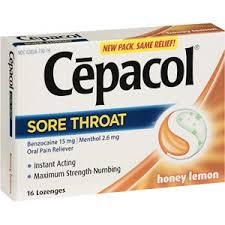 Free Cepacol Lozenges