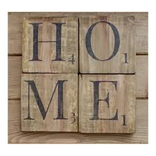 home sign wooden scrabble letters wood wall art reclaimed wood rustic home decor shabby chic wall decor home letters wood rustic oak colour by  on wall art letters wood with home sign wooden scrabble letters wood wall art reclaimed wood