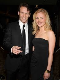 anna paquin and stephen moyer were hiding in plain sight technically speaking they are standing on the red carpet together at the 2008 sag awards more photos of this event in the photo gallery