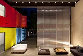 Most Beautiful Houses Made From Shipping Containers - Shipping container house interior