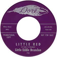 Little Eddie Brandon / Unknown Artist – Little Red / Theme From ...