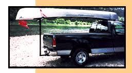 EXTEND-A-TRUCK - Used as a kayak carrier, canoe carrier, lumber ...