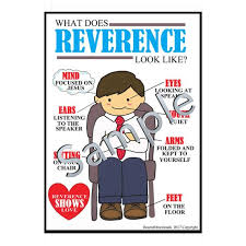 Digital Reverence Chart Poster Helper Resource Primary Sharing Time Instant Download Lds Pdf File