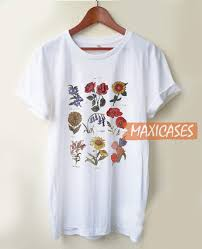 Flower Chart T Shirt Future State Flower Chart T Shirt Women Men And Youth Size S To 3xl