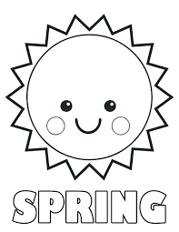 Awesome Preschool Spring Coloring Pages And Color Sheets For Kids