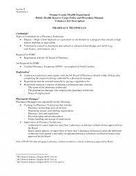 Templates Pharmacist Sample Jobn Resume For Pharmacy Technician