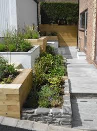 contemporary front garden homify