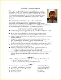 professional bio template cyberuse professional autobiography examples 8 professional bio templates flyer vscvdwkx