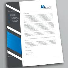 Letterheads Layouts Examples Of Excellent Letterhead Design Business Designs