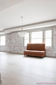 basement whitewashed brick limewash walls hardwood shaw flooring