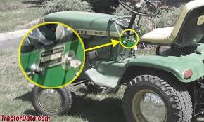 tractordata com john deere 140 tractor information photo of 140 serial number